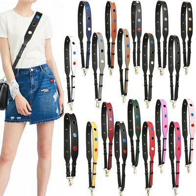 $ CDN26.35 • Buy Wide Purse Strap Replacement Guitar Style Multicolor Crossbody Belts For Handbag