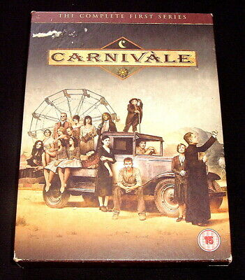 Carnivale Series 1..r2 Dvd 6 Discs Complete Hbo Tv Series • 4.99£