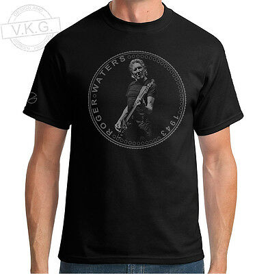 £15.50 • Buy Pink Floyd Bassist Roger Waters Cool Coin T Shirt By V.K.G.