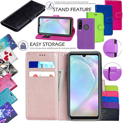 Case For Huawei P20 P30 Pro Lite P Smart 2019 Leather Cover Smart Stand Wallet • 3.49£