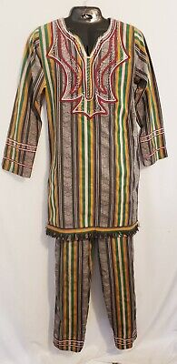 $59 • Buy African Unisex Multi Color Top And Bottom Outfit