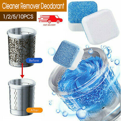 AU1.45 • Buy AU 1/5/10/20PCS Washing Machine Effervescent Tub Bomb Cleaner Remover Deodorant