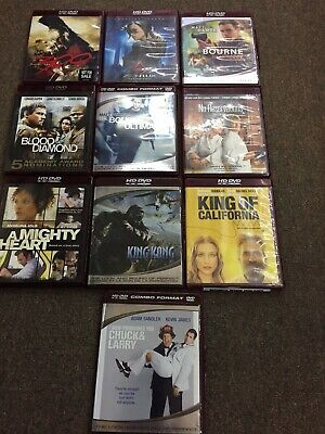 $ CDN20 • Buy Lot Of 10 HD DVDs