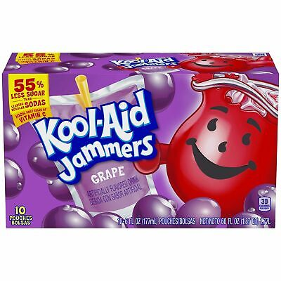 Kool-Aid Jammers Grape 10 Ct, 6 Oz  • 13.50£