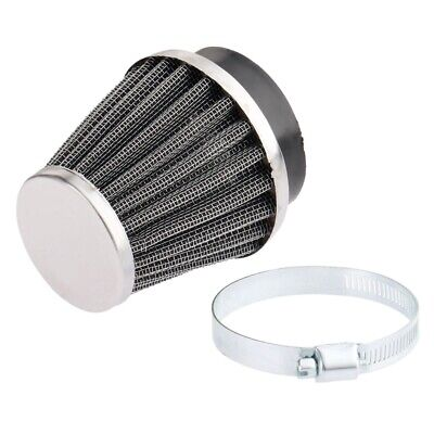 £8.68 • Buy 52mm Motorcycle Motorbike Air Filter Double Layer Steel Vent Cone Air Cleaner
