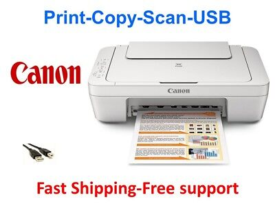 View Details NEW Canon 2522 (3322) All-in-One Printer-Scan-Copy+Free USB-home School/work • 55.98$
