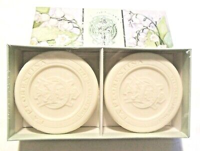 Lily Of The Valley Mughetto Casa Fondata 2 X 115 G Sculpted Soap • 10.95£