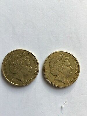 AU2500 • Buy 2000 Australian One Dollar Coin - $1/10c MULE - VERY RARE - VERY COLLECTABLE