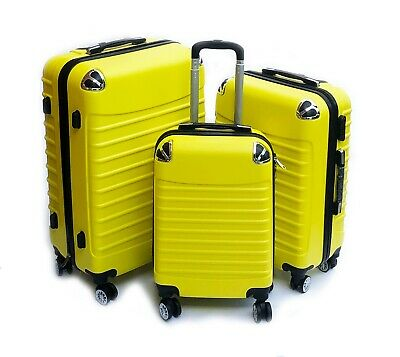 Lightweight Luggage Suitcase Cabin Case Trolley Hard Bag Travel Shell Ryanair 17 • 39.99£