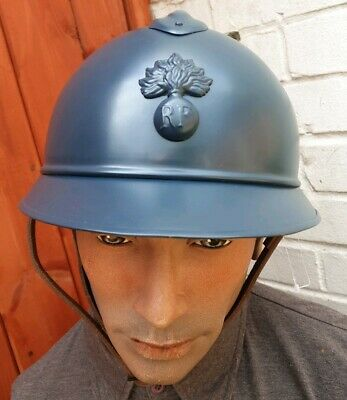 WW1 French M1915 Adrian Helmet NEW REPRODUCTION 1st World War Field Kit  • 85£