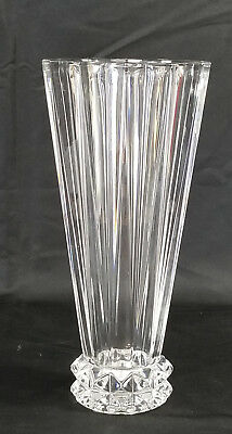 Signed 10  ROSENTHAL CLASSIC CRYSTAL  BLOSSOM  VASE Mid-Century Modern Germany • 59.99$