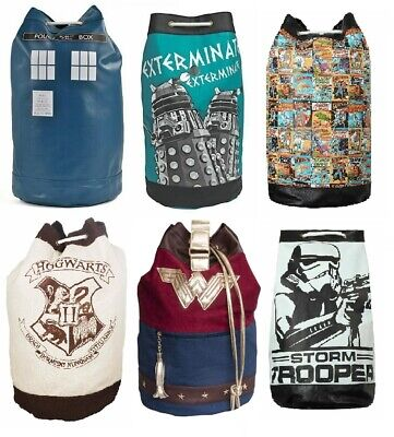 Duffle Bag Single - Star Wars, Harry Potter, Dr.Who, Superman, Wonder Woman  • 18.48£