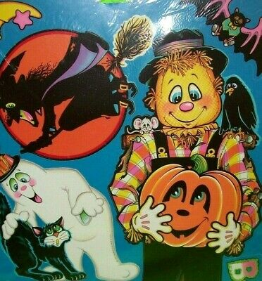 $ CDN51.64 • Buy Beistle Vintage Halloween Diecut Decorations SEALED 1981 Set Of 10 Cutouts