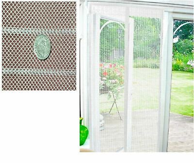 £6.49 • Buy MAGIC Magnetic Insect Door Mesh Net Screen For Bug Mosquito Fly Curtain