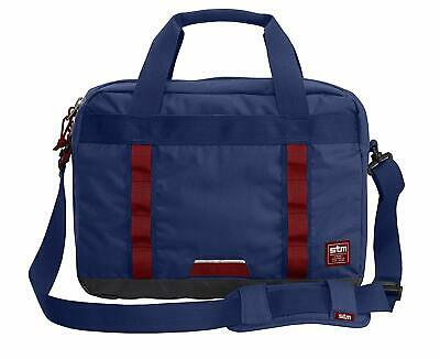 STM Bowery, Laptop Shoulder Messenger Bag Case For 15-Inch Laptops - Navy - NEW • 13.99£