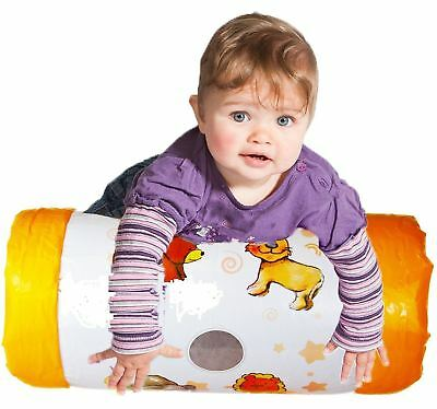 Inflatable Baby Roller Crawling Activity Toy Music Rattle Sound 0+months • 6.43£