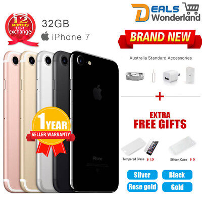 AU359.95 • Buy Apple IPhone 7 32GB 4G LTE Multi Colours Factory Unlocked In Sealed Box