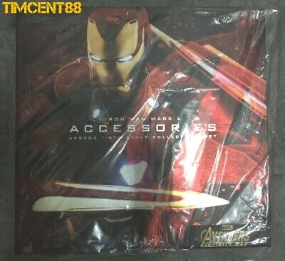 $ CDN308.47 • Buy Ready! Hot Toys ACS004 Infinity War Iron Man Mark L 50 Accessories Set Normal