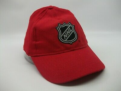 $ CDN19.99 • Buy NHL Hockey Budweiser Beer Hat Red Stretched Out Stretch Fit Baseball Cap