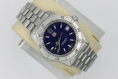Tag Heuer 2000 Series Classic Professional WK1113.BA0311 Watch Mens BLUE Sport • 390$