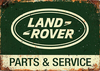 Retro Land Rover Metal Sign Car Workshop Garage Tin Plaque  A4 Approx. 29cmx19cm • 7.99£
