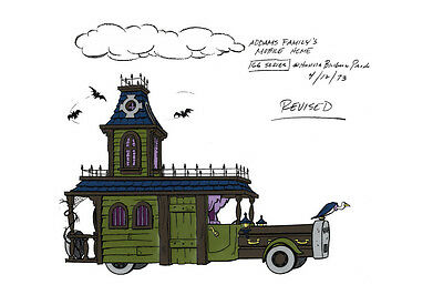 $ CDN21.17 • Buy Addams Family MOBILE HOME MODEL SHEET A HB Cartoon