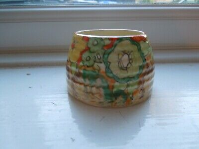 Clarice Cliff Jonquil Beehive Preserve Pot Base • 135£