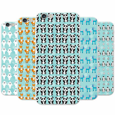£3.95 • Buy Cute Cuddly Animal Unicorn Pattern Hard Case Phone Cover For Apple Phones