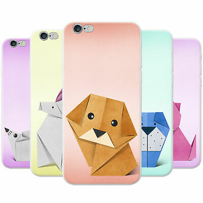 Japanese Paper Origami Animals Snap-on Hard Case Phone Cover For Apple Phones • 3.95£