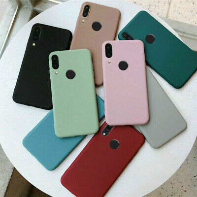 $2.84 • Buy For Xiaomi Redmi Note 8T 7 5 Pro 8A 7A Shockproof Soft Silicone Matte Case Cover