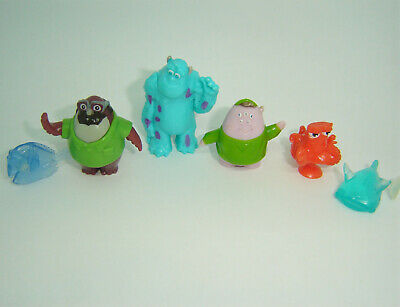 Disneys Monsters Inc University Finding Nemo Kinder Egg Cake Topper Toy Figures • 1.95£