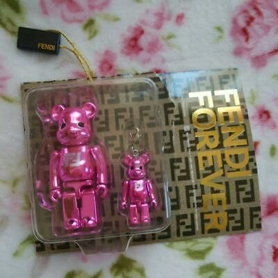 $170 • Buy FENDI × Bearbrick Figure & Keychain-pink