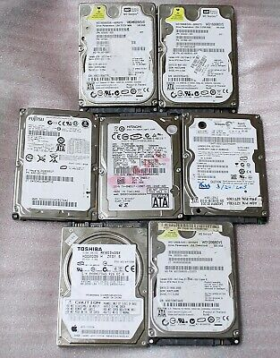 $ CDN150 • Buy Lot Of 7 Assorted Laptop 2.5  Sata Hard Drives (60/80/120/160gb) - Tested