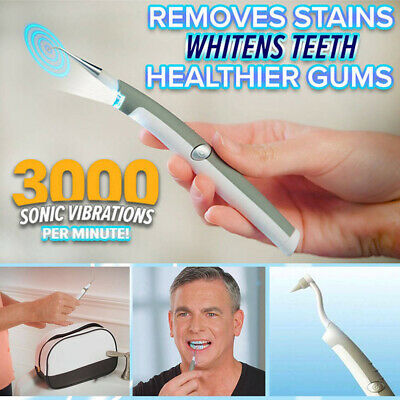 AU5.96 • Buy Oral Clean Teeth Whitening Dental Ultrasonic Scaler Plaque Stains Remover Pen