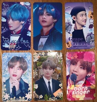 $4 • Buy BTS Photocard BTS Fansite Fanmade V Taehyung Photocards 3