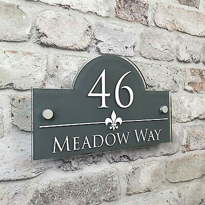 £14.99 • Buy Personalised Address Plaques & House Number Signs Door & Property Name Plates