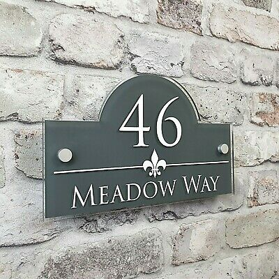 Personalised Address Plaques & House Number Signs Door & Property Name Plates  • 14.99£