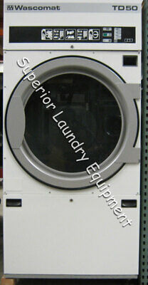 View Details Wascomat TD50 Tumble Dryer, 50Lb, 220V, 3Ph, Steam, Reconditioned • 2,300.00$