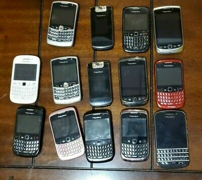 $ CDN139.98 • Buy 14 Broken Blackberry Phones Wholesale Lot -- SOLD AS IS FOR PARTS