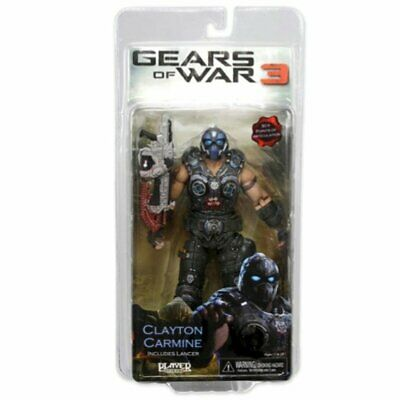 $119.95 • Buy Gears Of War NECA 3 Series 1 Action Figure Clayton Carmine Lancer NEW