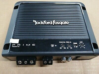 rockford car amplifier