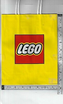 $4.99 • Buy LEGO BRICK Favor Bags Party Supplies Treat Loot Gift Birthday Paper 3 Ct