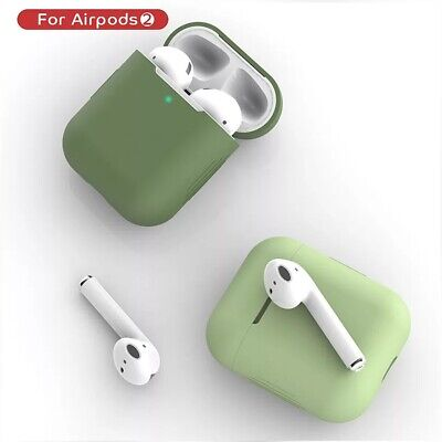 $ CDN5.87 • Buy 1PCS Silicone Airpods2 Protective Case Cover Bluetooth Wireless Accessories
