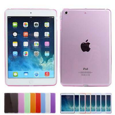 AU8.68 • Buy For IPad Pro 10.5 9.7 5th 6th Gen Air Mini Silicone Clear Soft TPU Case Cover