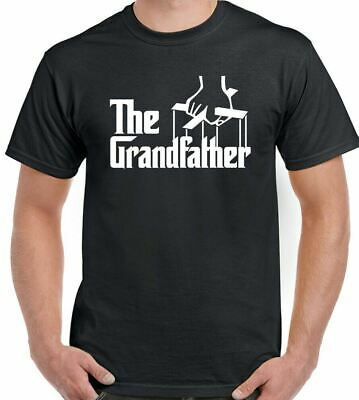 The Grandfather T-Shirt Mens Funny Fathers Day Present Dad Godfather Birthday • 6.99£