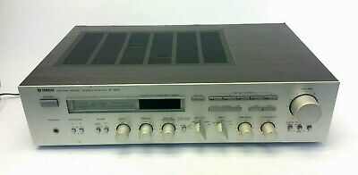 AU177.65 • Buy Vintage Used Yamaha R-900 Natural Sound Stereo Receiver Made In Japan Parts
