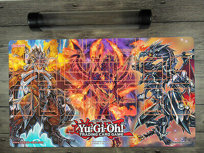 AU38 • Buy YuGiOh Dragons Master Rule 4 Zones Trading Card Game Custom Playmat Free Tube