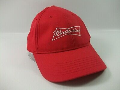 $ CDN19.99 • Buy Budweiser This Bud's For You Beer Hat Red Snapback Baseball Cap