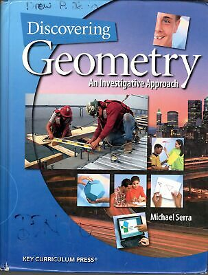 $9.75 • Buy Discovering Geometry 4th Edition