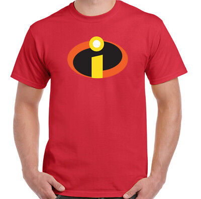 The Incredibles T-Shirt Mens Funny Superhero Fancy Dress Outfit Gym Training Top • 8.49£